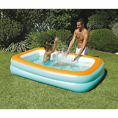 Large Paddling Garden Pool Kids Fun Family Swimming Outdoor Inflatable Summer