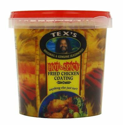 Tex's Hot & Spicy Fried Chicken Coating 700g