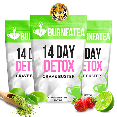 Strawberry Lime TEATOX - 14 DAY CRAVE BUSTER - EXTREME WEIGHT LOSS SLIMMING TEA