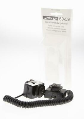 Metz 60-59 Spiral Connecting Cord & SCA 343 Adapter