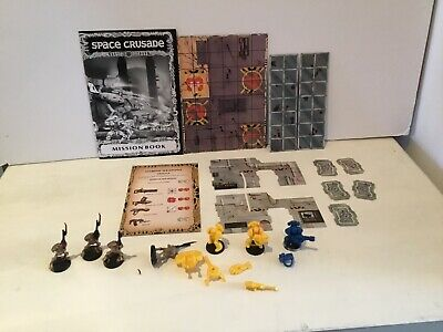 space crusade Mission Dreadnought board pieces Doors Androids Marines Spare Part