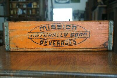 Mission Naturally Good Beverages Crate Orange Watertown NY