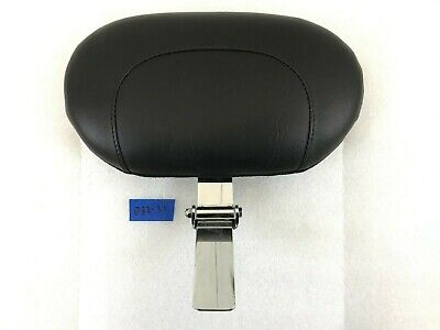 Mustangs Seats Rider Backrest and Pad For Harley Models