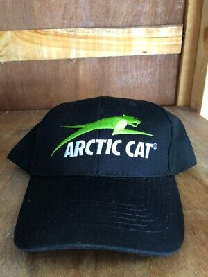 Arctic Cat Baseball Cap Trucker Hat Black Cotton Adjustable Snap Back