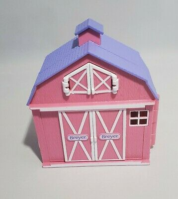 Breyer Pink Barn Stable Horse Toy