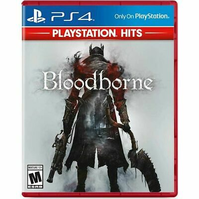 Bloodborne PS4 PlayStation Hits (Sony PlayStation 4, 2015) Brand New