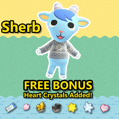 Animal Crossing New Horizons Villager: Sherb