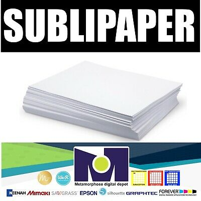"""Dye Sublimation Transfer Paper SUBLIPAPER 100 Sheets 13""""x19""""  FREE DELIVERY"""