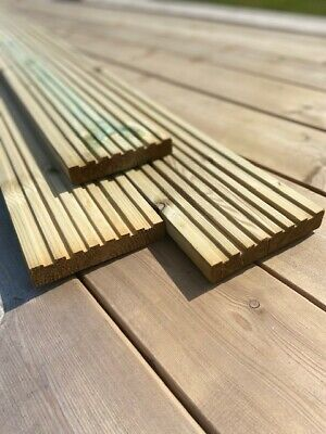 B Grade Treated Timber Decking Boards 30x150mm 3.9M X-it SPECIAL