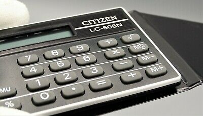 Calculadora Citizen LC-508N electronic calculator, Calculadora vintage. Raro!!!