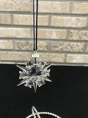 2002 LARGE Swarovski Snowflake Ornament