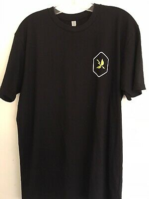 Saint Archer Brewing Company Craft Beer Black T-Shirt New Size Large