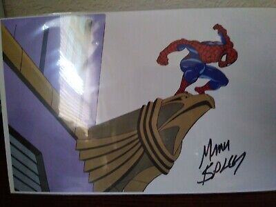 Mark Bagley? Signed Autograph Marvel Spiderman Animated Cel