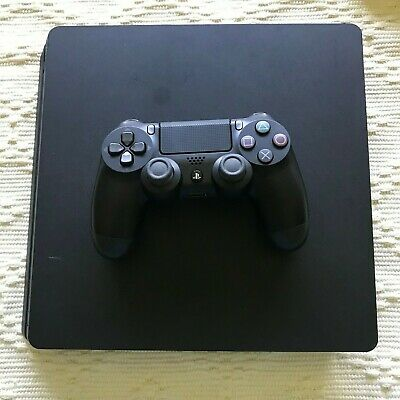 SONY PlayStation 4 PS4 Slim 500GB Console w/ Controller CUH-2015A