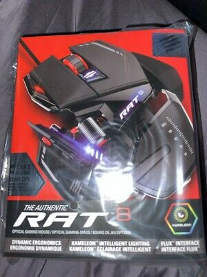 Mad Catz R.a.t. 8 Gaming Mouse (Brand New)