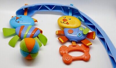 Fisher Price Infant Toddler Rocker Replacement SWING AWAY TOY BAR +TOYS Only