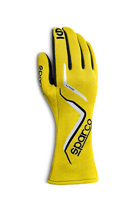 SPARCO Glove Land X-Small Yellow 00135708GF