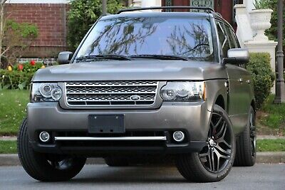 2012 Land Rover Range Rover Supercharged 4x4 4dr SUV 2012 Land Rover Range Rover Supercharged BRONZE WRAP ONLY 73K MILES