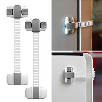 2/8/10Pc Child Safety Lock Protective Wardrobe Lock Cabinet Lock for Baby Safety