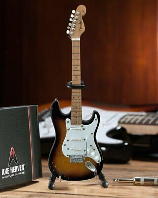 Axe Heaven Eric's Signature Brownie Fender Stratocaster Miniature Guitar Replica