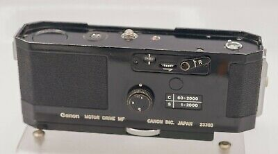Untested - Canon Motor Drive MF For F-1 F1 35mm Film SLR Cameras