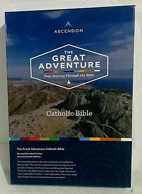 The Great Adventure Catholic Bible. NEW FREE SHIPPING!