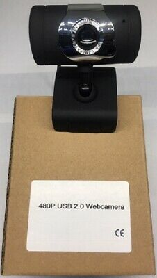 Webcam Usb Standard Con Microfono Laptop Pc 30Fps 480P Web Cam Windows Smartwork