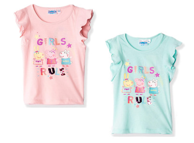 T-shirt à sequins PEPPA PIG enfant fille 3-6 ans