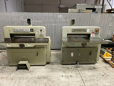 Two Polar 72CE paper cutters!!!