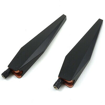2x ASUS Antennas for GT-AC5300 Tri-Band Wireless Router New SMA AC5300 WiFi