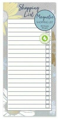 Shopping List Note Magnetic Meal Planner & Tear Off  Pad BUTTERFLY Design