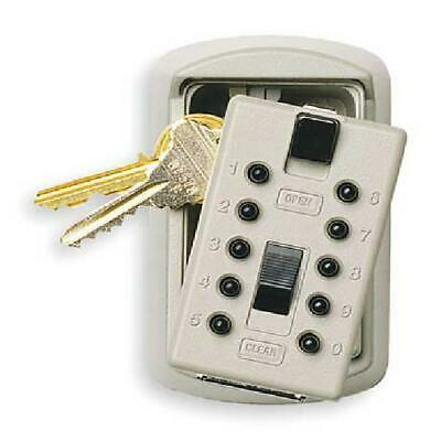 Kidde Keysafe 2-Key Box with Pushbutton Lock, Clay
