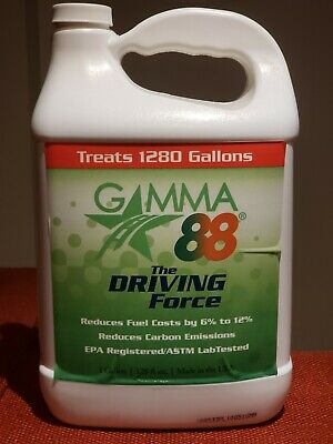 Gamma 88 Diesel Fuel System Cleaner&Engine Oil Additive One Gallon 128oz Bottles