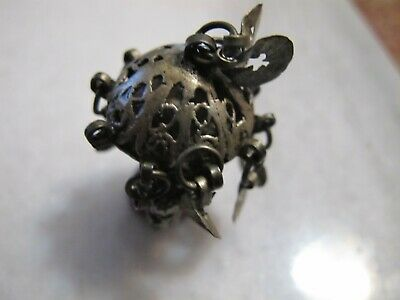 Antique  Byzantine  Alloy Silver Occult  Ring