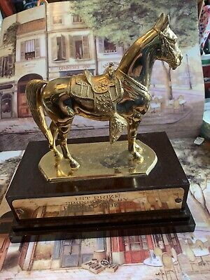 First Prize((( Champion )))Dodge Nc. Trophies No. 3000 Gorgeous Gold Patina.🙏🙏