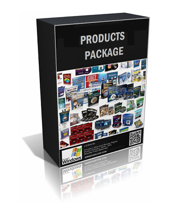 10 Selected Premium Products Bundle of Your Choice in CD/DVD Pack