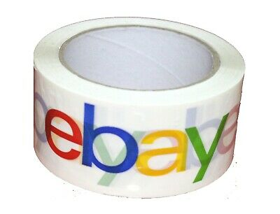 1 Roll eBay Branded Packing Packaging Shipping Tape BOPP 75 Yards 2Mil Classic