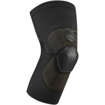 Icon Field Armor Compression Knees (Black, X-Large)