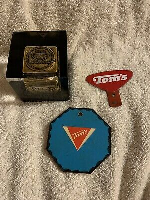 Rare Toms Peanut Advertising Items