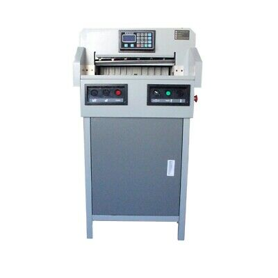 """Programmable Electric Paper Cutter Max. Cutting Width 18-1/8"""" 460mm"""