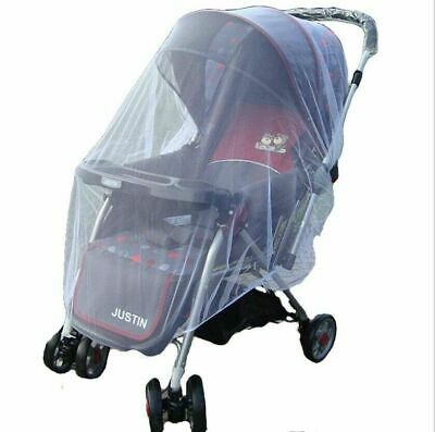 Universal Baby Stroller Mosquito Net Cover Infant Bug Protection Shield Foldable
