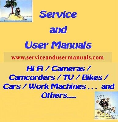 Service And User Manuals From Aiwa Vsx To Akai A Z90 Pdf Files Eur 5 73 Picclick Fr
