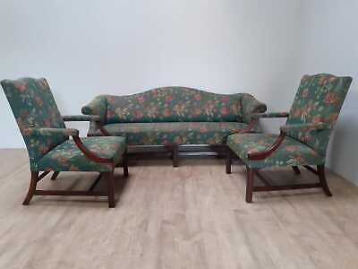 Mahogany 3 piece suite in George III style