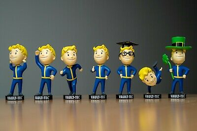 Fallout 76 Vault Boy Bobblehead - 7 Collectible Figures Selection - NEW & BOXED