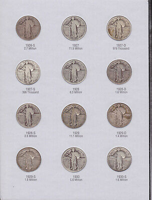 Standing Liberty Quarter Collection (H)