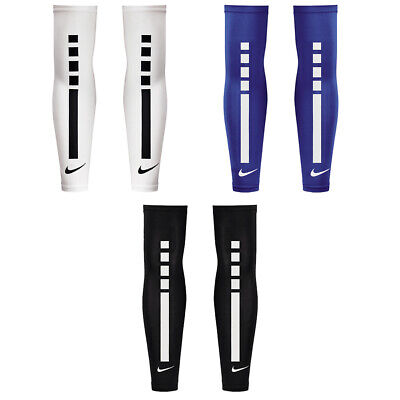 Pair Of Sleeves Cover Arms Nike Pro Elite Sleeves Basketball