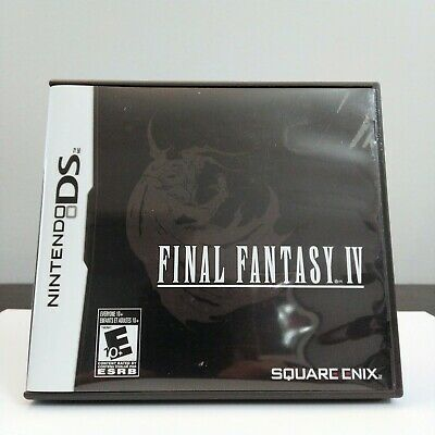 Final Fantasy IV Nintendo DS 2008 CIB Authentic Tested Free Shipping