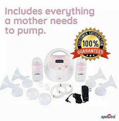 BRAND NEW Spectra BABY S2 PLUS HOSPITAL GRADE Electric DOUBLE Breast Pump