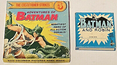 BATMAN - Two 8mm Films - 1940s Columbia Serial in Original Home Movie Boxes!