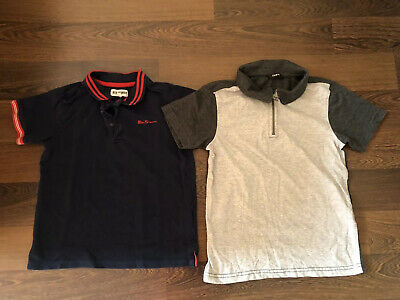 Boys Bundle Polo Shirts Ben Sherman ,George 8-9 Years